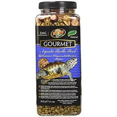Zoo Med Gourmet Aquatic Turtle Food Natural Plus Vitamins Minerals High Protein