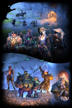 Overwatch comic 16 - The Return of Junkenstein, Gray Shuko Overwatch Story, Overwatch Memes, Blackwatch Mccree, Genji Wallpaper, There Goes My Hero, Overwatch Wallpapers, Paladin, Art Pictures, Games