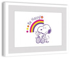 Happiness - Peanuts Collection, Charles Schultz. Snoopy and Woodstock are always happy.