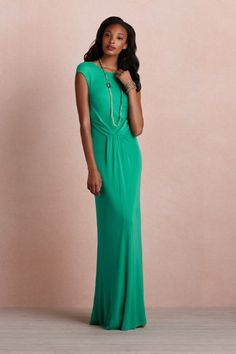 I already have a gorgeous long green dress, but if I ever needed another...