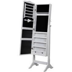 Songmics® 158cm Schmuckschrank Spiegelschrank Standspiegel Schmuckkasten Weiß JBC82W Songmics http://www.amazon.de/dp/B00BMM2JRW/ref=cm_sw_r_pi_dp_hp.4wb0RAKNVZ