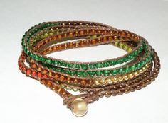 Copper River Banded Wrap Bracelet.
