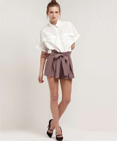 Arabesque Bow Shorts