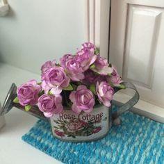 Miniature Shabby Chic roses - Villa Huvitus