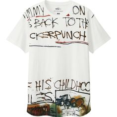 3b40d13f5 UNIQLO Gets Artsy with Andy Warhol, Keith Haring & Jean Michel Basquiat  Mens White Shorts