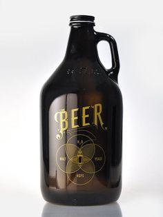 Pop Chart Lab --> Design + Data = Delight --> The Venn of Beer Growler