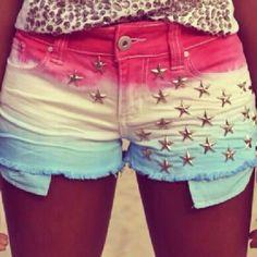 shorts y estrellas
