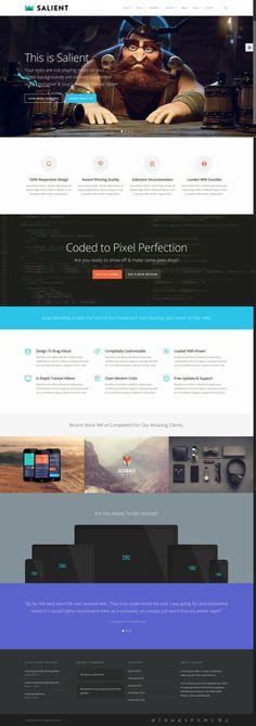 Best Onepage Minimal Wordpress Themes 2014 http://www.wpthm.com/wordpress/minimal