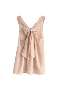 This chic bow shirt is great for a casual party. It would look cute with fitted black pants...