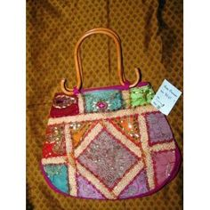 Womens Sari Handbag Multi Reds Bollywood Purse Boho (Apparel)  http://www.amazon.com/dp/B005DQ2HFM/?tag=worldshouts-20  B005DQ2HFM
