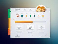 Recipe interface