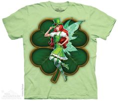 ST PATRICKS DAY FAIRY T-SHIRT BY THE MOUNTAIN®