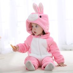 2016 New Autumn Spring Paragraph Baby Clothes Boys Girls Animal Shapes Even The Cap Leotard Layette Children's Rompers JJ0010