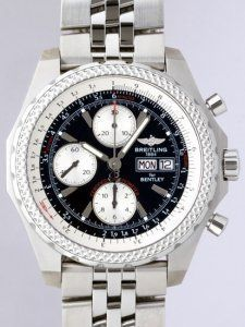 ef7ab262b04 Breitling Bentley BRA1336313 B724 Mens White Stainless Steel replica watch