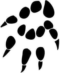 Hedgehog front leg