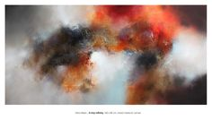 Eelco Maan I A tiny infinity, mixed media on canvas, 180 x 80 cm. Available at Claremont Gallery, Sevenoaks, UK / http://www.claremontantiques.com/160-eelco-maan
