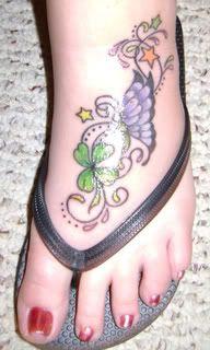 foot tattoo LOVE!!! my favorite so far