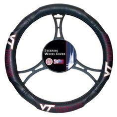 Virginia Tech Hokies Embossed Steering Wheel Cover