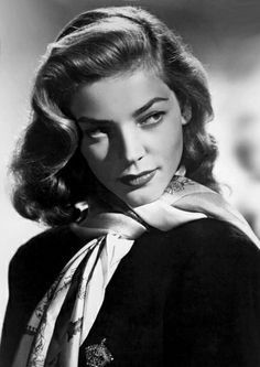 Definitely my favorite picture of Lauren Bacall. She looks so sultry here.                                                                                                                                                      More