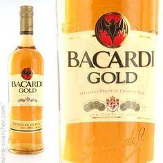 Puerto Rican Rum Bacardi Gold cakepins.com