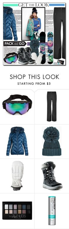 """""""Pack and Go"""" by polybaby ❤ liked on Polyvore featuring Zeal Optics, KJUS, Toni Sailer, BCBGMAXAZRIA, Hestra, Santana Canada, Maybelline, Chapstick and Packandgo"""