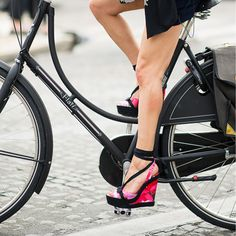 Cycle in style this London Fashion Week! What's your wardrobe inspiration?…
