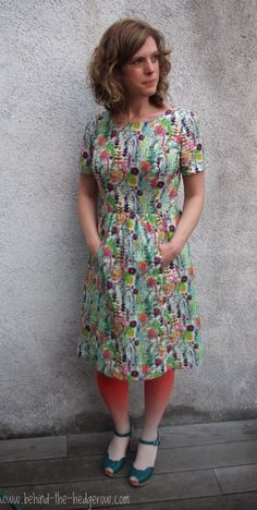 Simplicity 1652 in Liberty of London // Behind the Hedgerow