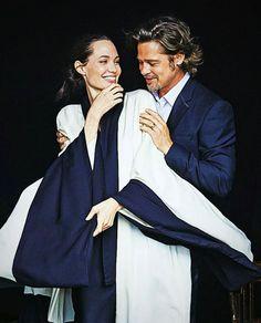 "sweetjoliee: ""Angelina Jolie & Brad Pitt photographed by Peter Lindbergh """