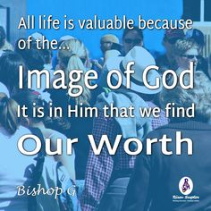 All human beings have value above the rest of animate life because of God's image.  More at #RisenScepter owl.li/4mZ4NS