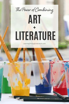 Creating and studying art is a way for us to communicate to the world around us in a way that words cannot always express. And when we immerse ourselves in literature, we are transported to another place and time, experiencing life from another's point of view.