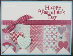 Hearts a Flutter Valentine by bkeenan256 - Cards and Paper Crafts at Splitcoaststampers
