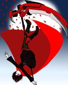 RWBY RED by ~burntnoodles on deviantART