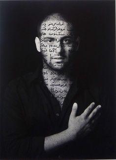 2013, Ibrahim  |  60 x 44 cm Ink on LE gelatin silver