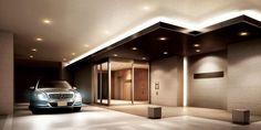 Parking Space, Parking Lot, Car Parking, Car Places, Canopy Lights, Parking Design, Garage Design, My Furniture, Interior Design Living Room