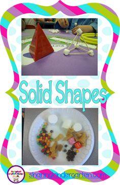 Solid (3D) Shape Ideas!