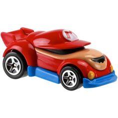 Hot Wheels Mario Bros. Mario Character Car, Multicolor