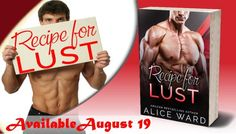 #RecipeForLust #Romance #Books #August19
