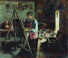 abram arkhipov paintings - Google Search