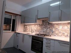 SENHOR FAZ TUDO - Faz tudo pelo seu lar !®: Montagem de uma cozinha Ikea em Odivelas