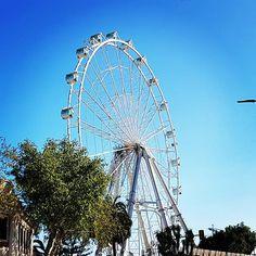 Rolling. #Málaga #Andalucía #España #Spain #sky #blue