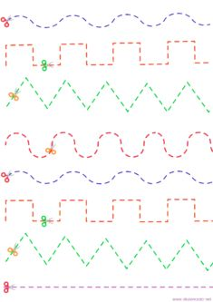Preschool Worksheets, Preschool Activities, 4 Year Old Boy, Scissor Skills, Toddler Schedule, Alphabet For Kids, Book Projects, Working With Children, Writing Skills