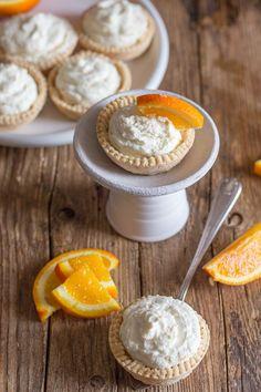 Creamy Orange Cheesecake Tarts