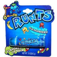 Runts Blue Raspberry Flavored Lip Balm  $2.00