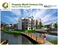 Quayside is the first large residential development to be launched at Century City since the award-winning Waterstone!