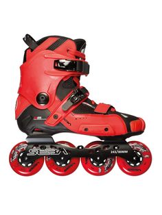 #Adoracion. Seba skates high light red.