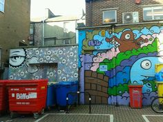 Brighton street art / graffiti
