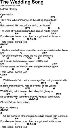 the wedding song paul stookey