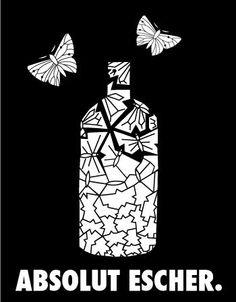 Absolut Vodka Escher (just one more please)