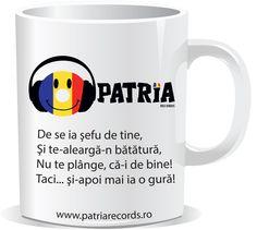 Cană Patria Records