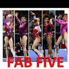 One Direction as gymnasts. Not so sure about this....